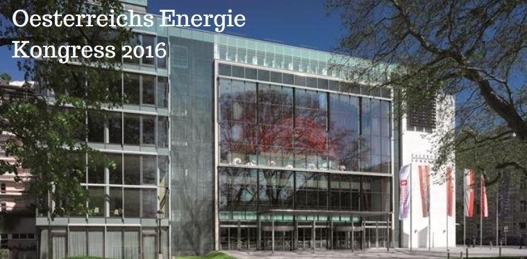 Oesterreichs Energie Kongress 2016